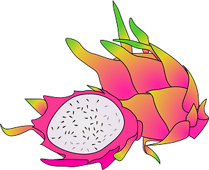 Passion fruit clipart