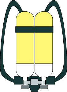 Breathing Apparatus clipart
