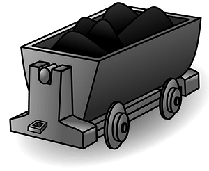 Coal Lorry clipart