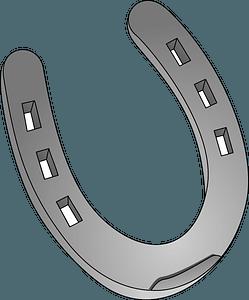 Iron Horseshoe clipart