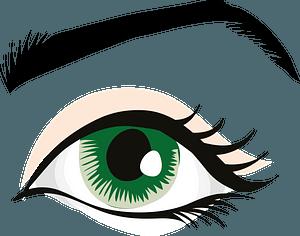 Green Eye clipart