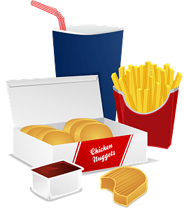 Fast Food Meal clipart