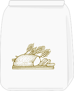 Bag of Flour clipart