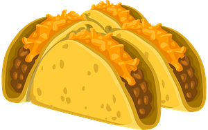 Food Cold Taco clipart