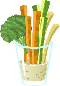 Common Crudites clipart