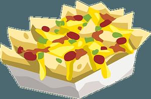 Hungry Nachos clipart