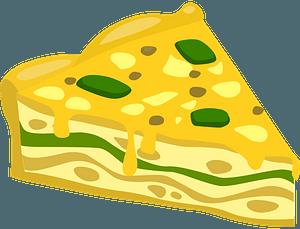 Scrumptious Frittata clipart