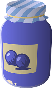 Whortleberry Jelly clipart