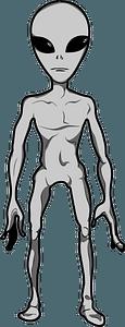 Grey Alien clipart