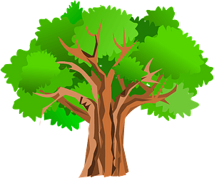 Tree with Leaves clipart