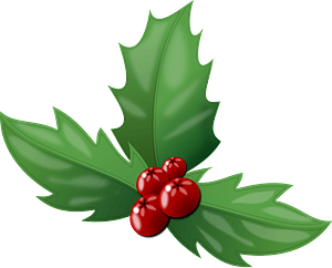 Holly Branch clipart