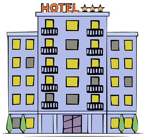 Lavender Hotel clipart