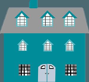 Aqua House clipart