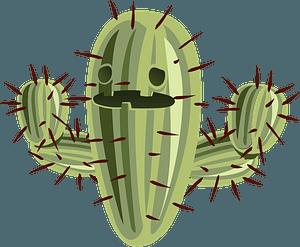 Cactus Face clipart