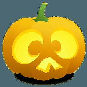 Jack O' Lantern: Chuck - Cross Eyed clipart