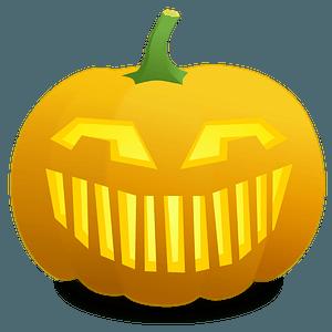 Jack O' Lantern: Leonard - Very Big Smile clipart
