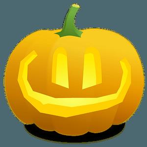 Jack O' Lantern: Lou - Very Wide Smile clipart