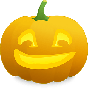 Jack O' Lantern: Shmalvin - Crooked Grin clipart