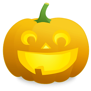 Jack O' Lantern: Fred - Bright Smile, One tooth clipart