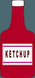 Ketchup Bottle clipart