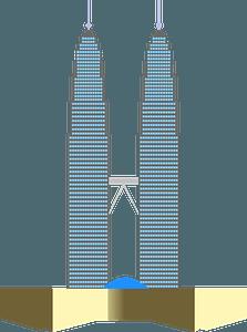 Skyscrapers clipart