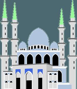 Mosque in Kuantan clipart