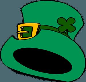 Green Leprechaun Hat clipart