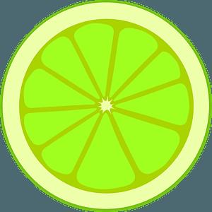 Lime Slice clipart