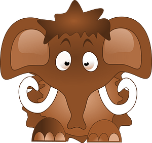 Mammoth clipart