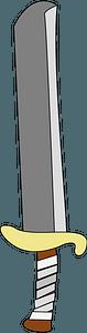 Fake Sword clipart