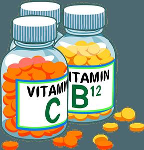 Vitamin Bottles clipart
