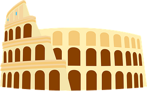 Roman Colosseum clipart