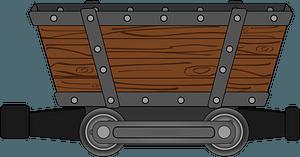 Mining Cart clipart