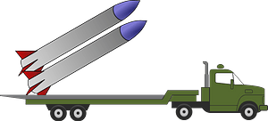 Missile Truck clipart