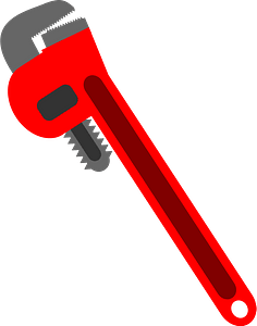 Plumbers Wrench clipart
