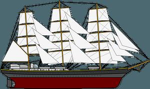 Tall Ship clipart