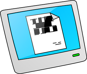 Electronic Picture Frame clipart