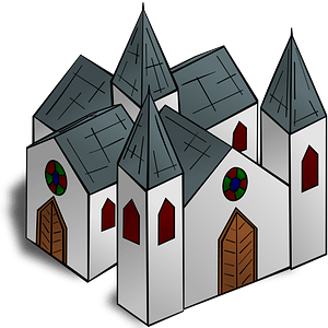 Cathedral clipart