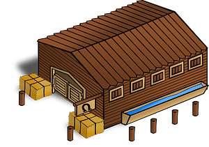 Stables clipart