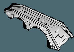 Arched Stone Bridge clipart