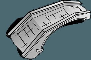 Stone Bridge clipart