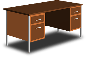 An Office Desk clipart