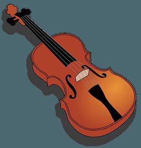 Violin clipart
