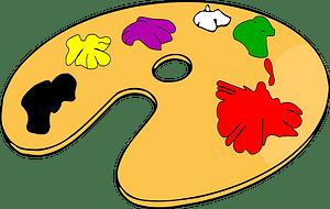Palette clipart
