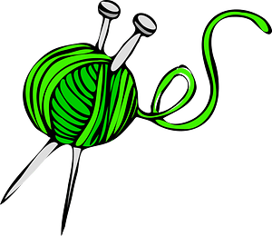 Knitting clipart