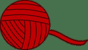 Ball of yarn clipart