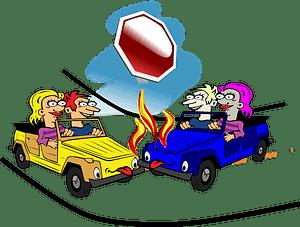 Crash clipart