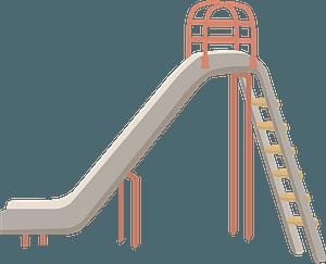 Playground Slide clipart