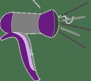 Blow-dryer clipart