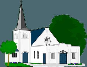 Greyfriars Church Mt Eden New Zealand clipart
